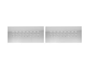 Isuzu D-Max Double Cab 4X4 01.05 - 12.06 Mittelkonsole Armaturendekor Cockpit Dekor 6 -Teile