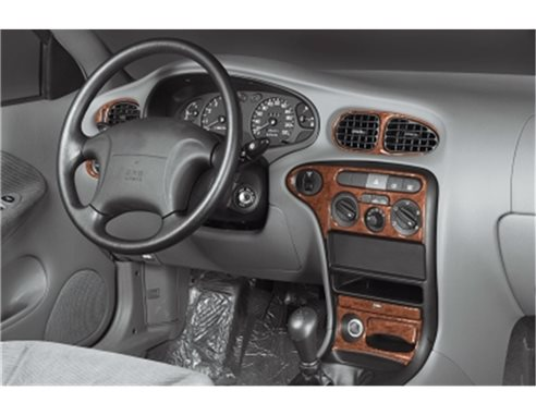 Chrysler Voyager 03.01 - 09.07 Mittelkonsole Armaturendekor Cockpit Dekor 7 -Teile