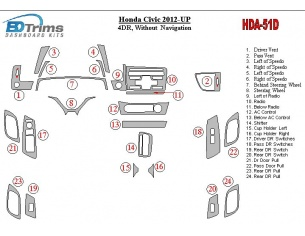 HONDA CIVIC HB 2006 up Motorhaube Windabweiser