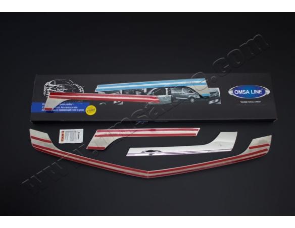 Fiat Doblo 01.01 - 08.09 Exkluzívne Samolepící Dekor Palubnej Dosky 26-Dielny
