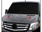 Fiat Fiorino 01.2008 Exkluzívne Samolepící Dekor Palubnej Dosky 27-Dielny