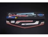 Honda Accord 06.92- 06.98 Exkluzívne Samolepící Dekor Palubnej Dosky 11-Dielny