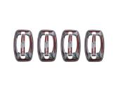 Volkswagen LT 03.95 - 03.06 Exkluzívne Samolepící Dekor Palubnej Dosky 17-Dielny