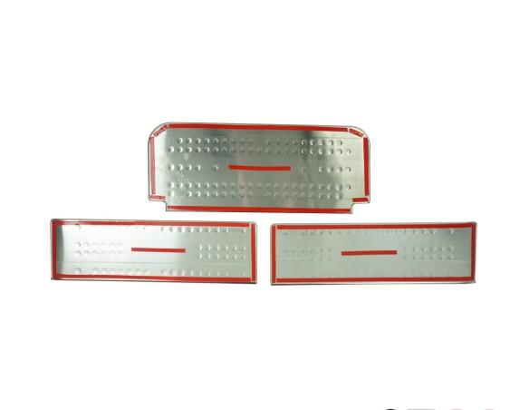 Renault Master 01.04 - 12.09 Exkluzívne Samolepící Dekor Palubnej Dosky 28-Dielny