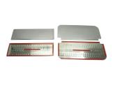Opel Movano 01.04 - 12.09 Exkluzívne Samolepící Dekor Palubnej Dosky 28-Dielny