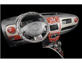 Skoda Fabia 5J Roomster 06.2006 Mittelkonsole Armaturendekor Cockpit Dekor 20 -Teile