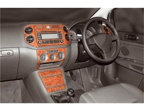 HYUNDAI Hyundai Excel 01.91-08.94 3M 3D Interior Dashboard Trim Kit Dash Trim Dekor 7-Parts €38.49